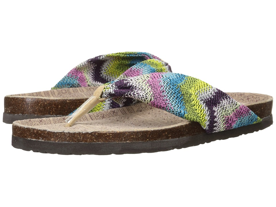 MUK LUKS - Julia (Multi) Women's Sandals