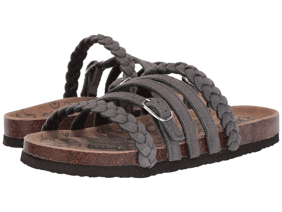 MUK LUKS - Terri (Grey) Women's Sandals