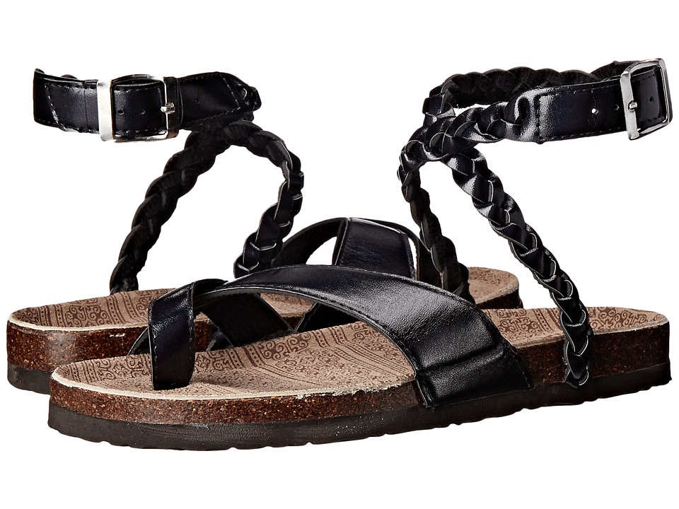 MUK LUKS - Estelle (Black) Women's Sandals