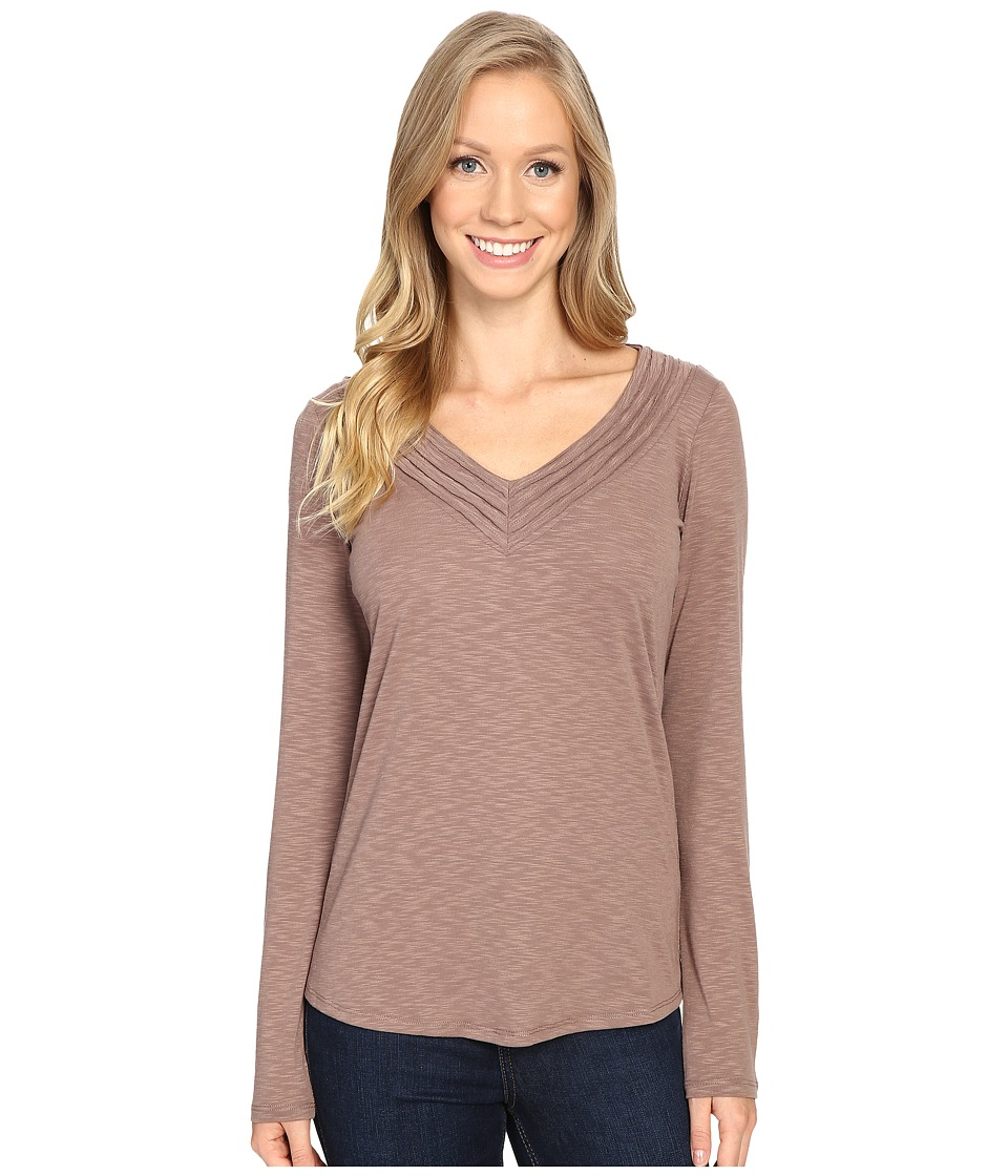 KUHL - Sora Long Sleeve Shirt (Truffle) Women's Long Sleeve Pullover