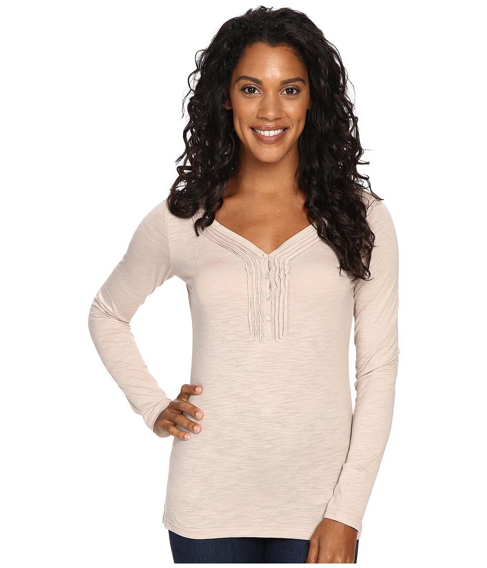 KUHL - Vega L/S Henley (Malt) Women's Long Sleeve Pullover