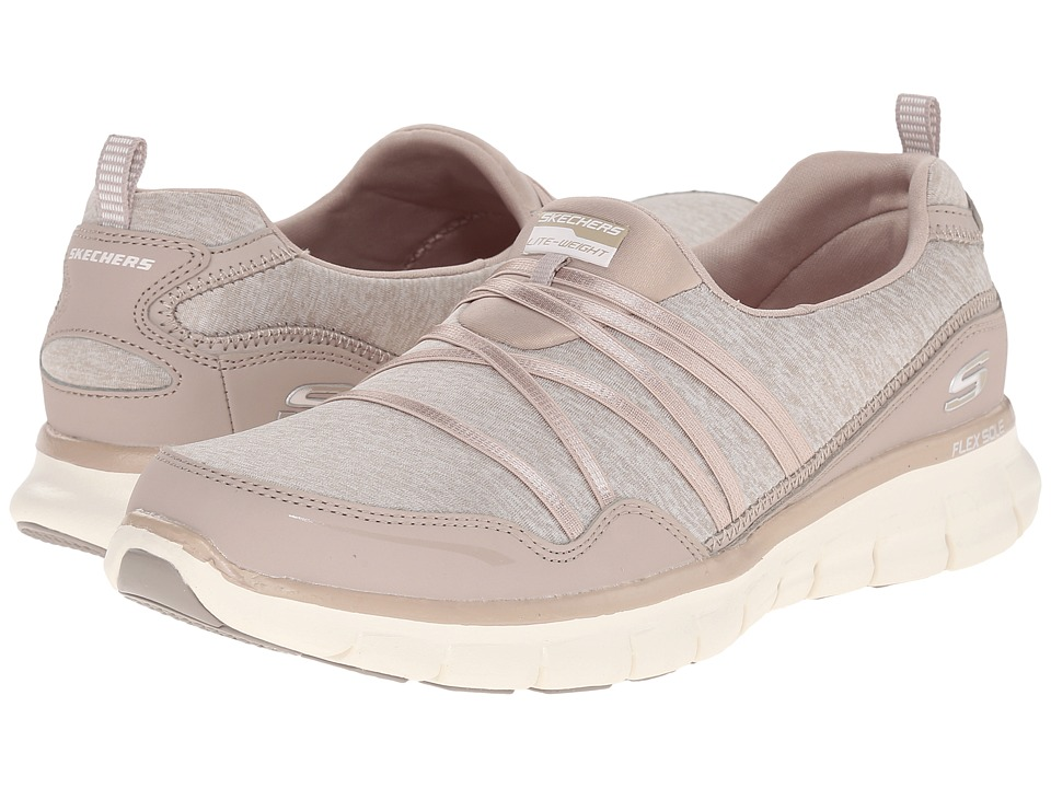 SKECHERS - Synergy - Scene Stealer (Taupe) Women's Shoes