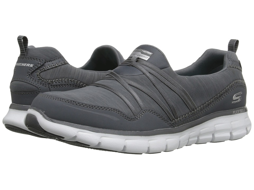 SKECHERS - Synergy - Scene Stealer (Charcoal) Women's Shoes