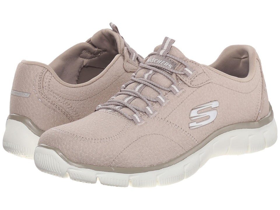 SKECHERS - Empire (Taupe) Women's Shoes
