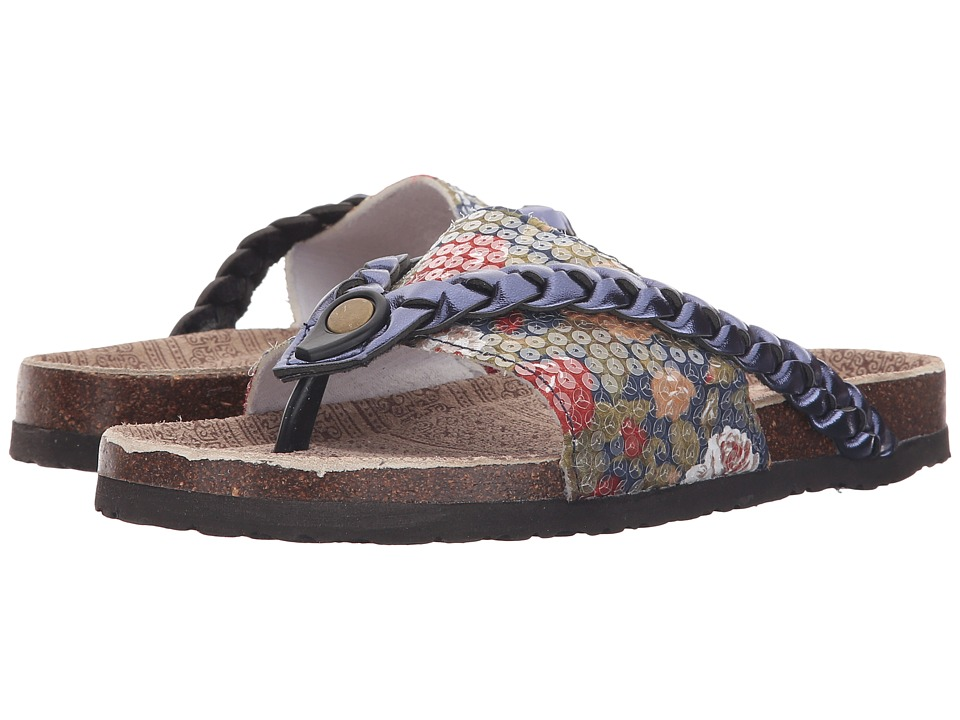 MUK LUKS - Elaine (Navy) Women's Sandals