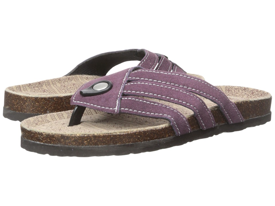 MUK LUKS - Francis (Deep Purple) Women's Sandals
