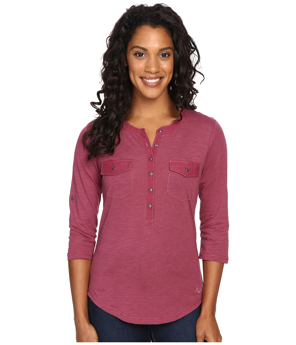KUHL - Khloe (Ash Rose) Women's Long Sleeve Pullover