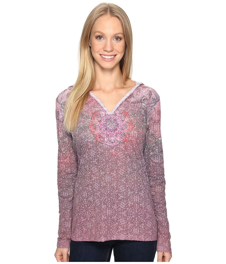 KUHL - Basel Hoodie (Claret Swirl) Women's Long Sleeve Pullover
