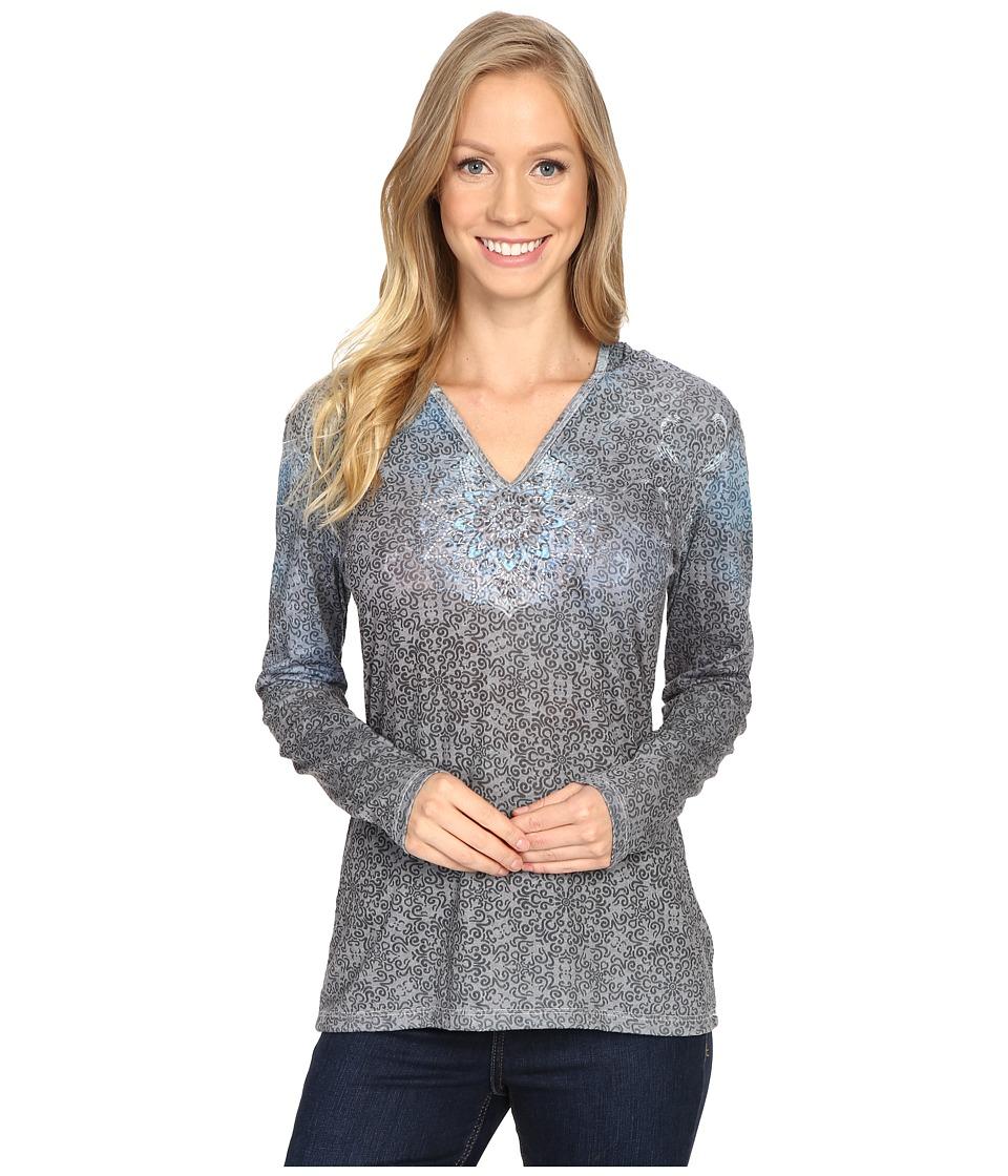 KUHL - Basel Hoodie (Raven Swirl) Women's Long Sleeve Pullover