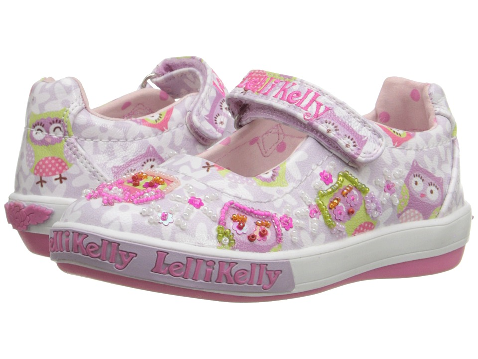 Lelli Kelly Kids - Owls Dolly (Toddler/Little Kid) (Lilac Fantasy) Girls Shoes