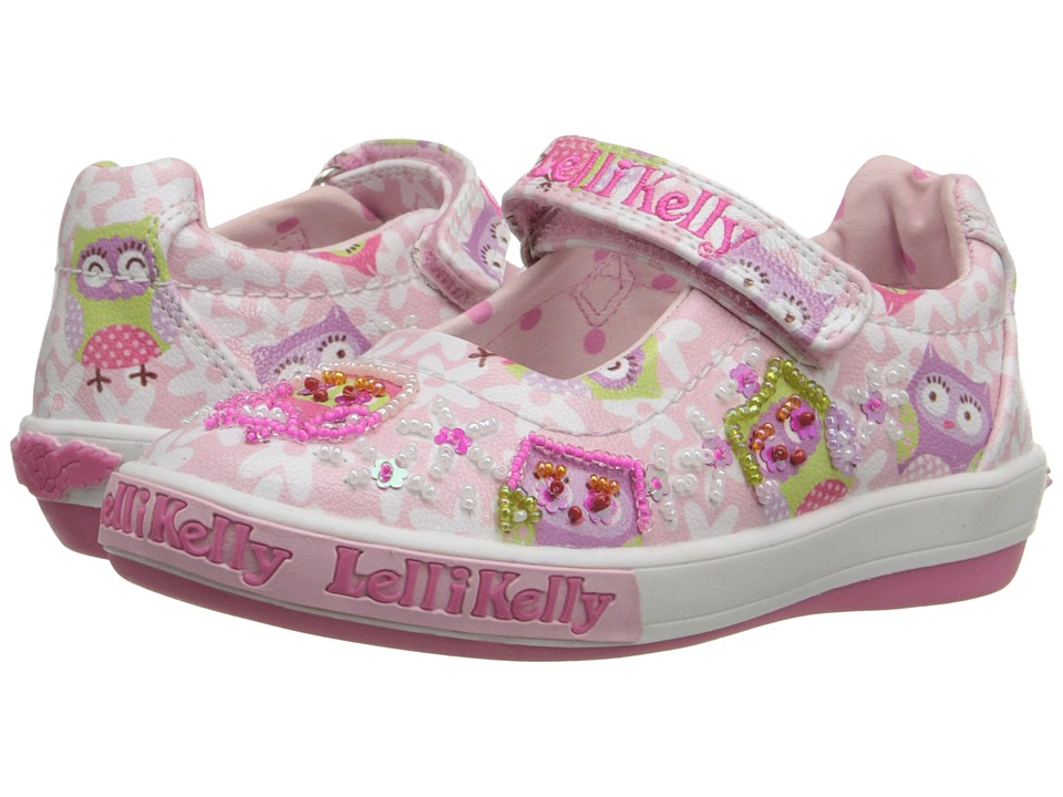 Lelli Kelly Kids - Owls Dolly (Toddler/Little Kid) (Pink Fantasy) Girls Shoes