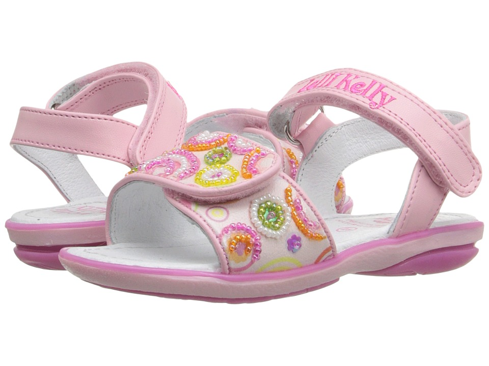 Lelli Kelly Kids - Puntini Sandal (Toddler/Little Kid) (Pink Fantasy) Girls Shoes