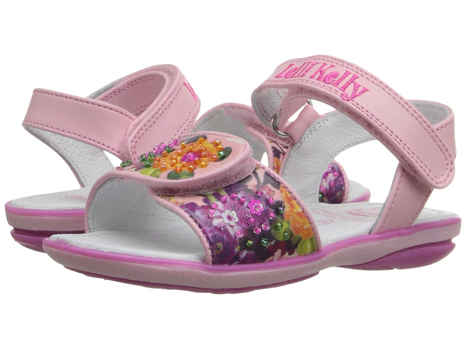 Lelli Kelly Kids - Bella Sandal (Toddler/Little Kid) (Pink Fantasy) Girls Shoes