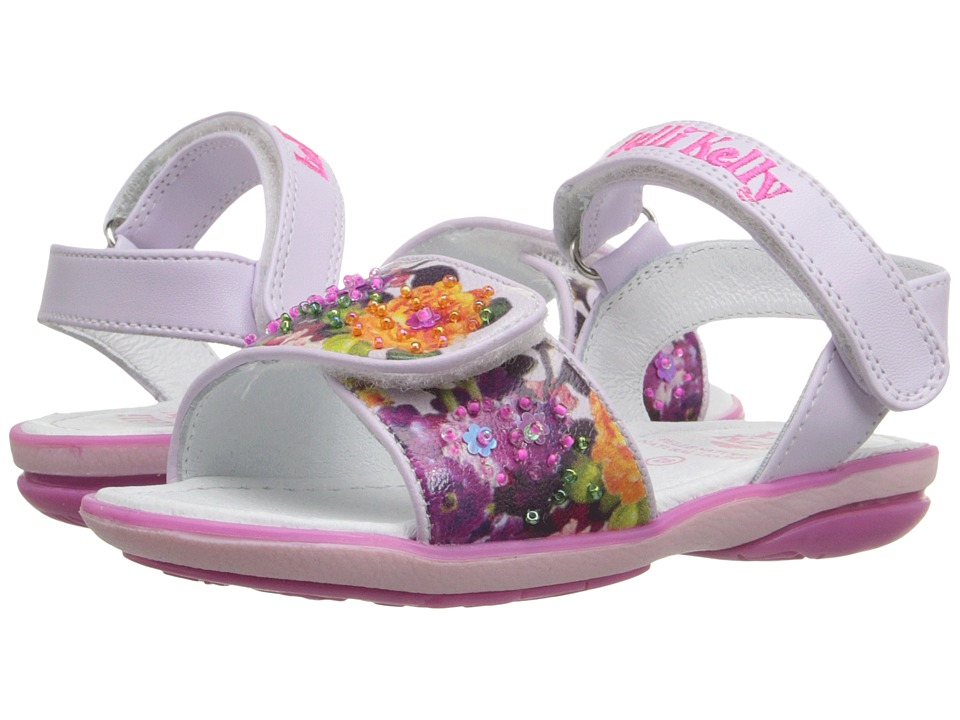 Lelli Kelly Kids - Bella Sandal (Toddler/Little Kid) (Lilac Fantasy) Girls Shoes