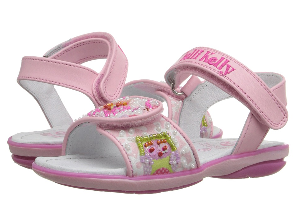 Lelli Kelly Kids - Owls Sandal (Toddler/Little Kid) (Pink Fantasy) Girls Shoes