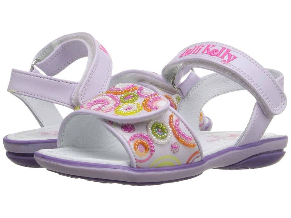 Lelli Kelly Kids - Puntini Sandal (Toddler/Little Kid) (Lilac Fantasy) Girls Shoes