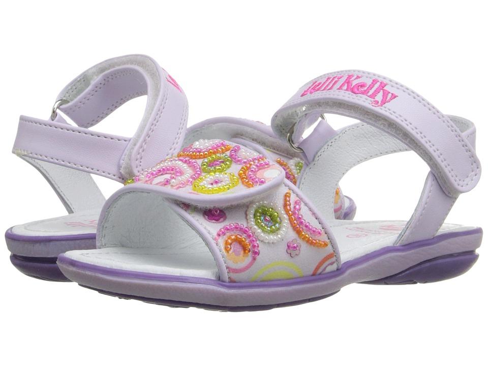 Lelli Kelly Kids - Puntini Sandal (Toddler/Little Kid) (Lilac Fantasy) Girls Shoes