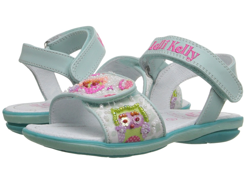 Lelli Kelly Kids - Owls Sandal (Toddler/Little Kid) (Mint Fantasy) Girls Shoes