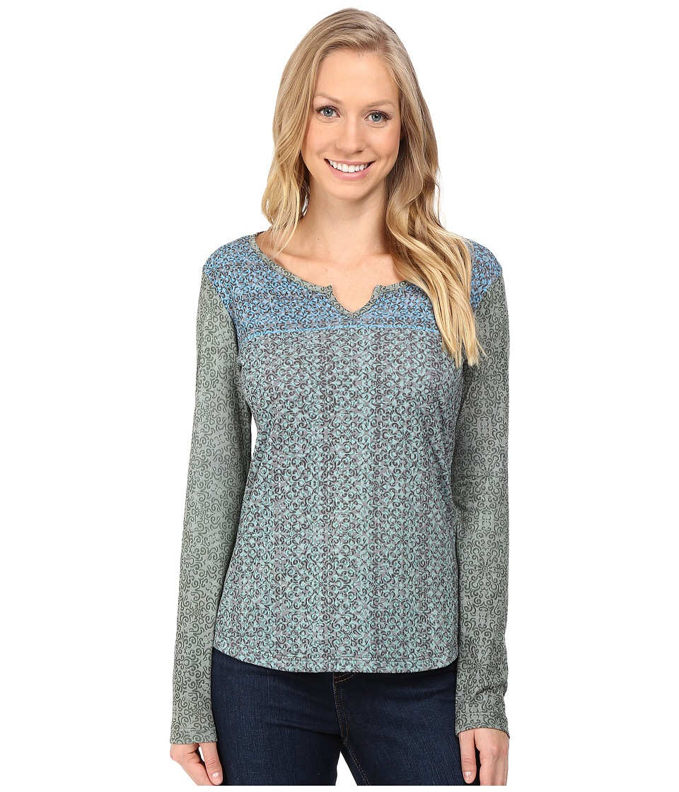 KUHL - Elsa Long Sleeve Shirt (Dark Forest) Women's Long Sleeve Pullover