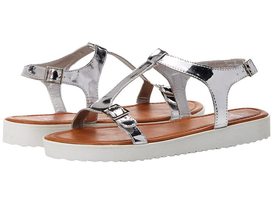 MUK LUKS - Joy (Silver) Women's Sandals