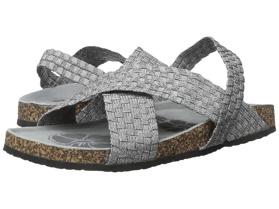 MUK LUKS - Morgan (Pewter) Women's Sandals