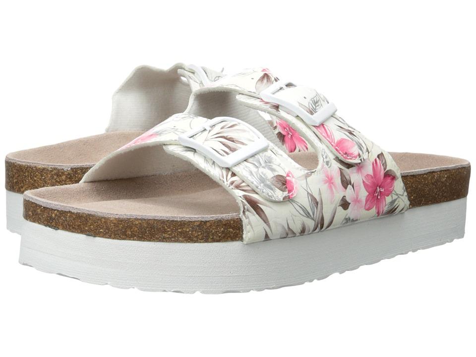 MUK LUKS - Diane (Fuchsia) Women's Sandals