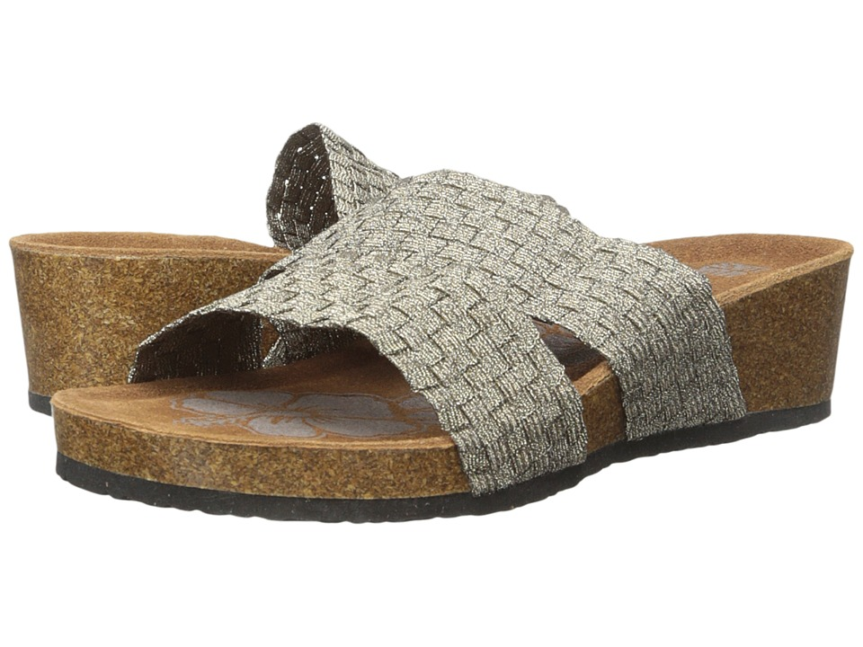 MUK LUKS - Heather (Bronze) Women's Sandals