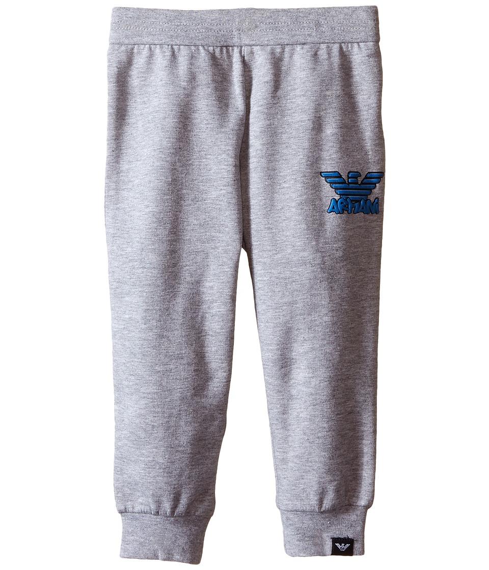 Armani Junior - Basic Sweatpants (Infant) (Dark Grey) Boy's Casual Pants