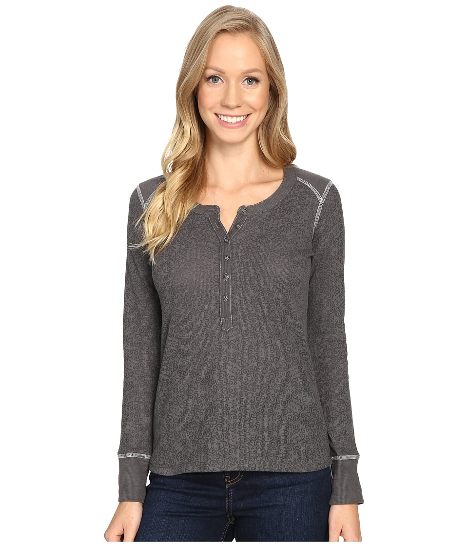 KUHL - Mia Thermal (Carbon Swirl) Women's Long Sleeve Pullover
