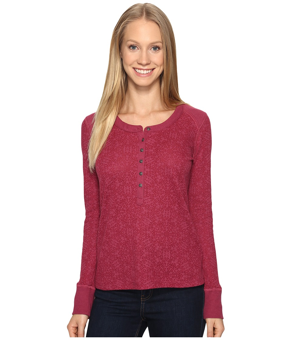 KUHL - Mia Thermal (Claret Swirl) Women's Long Sleeve Pullover