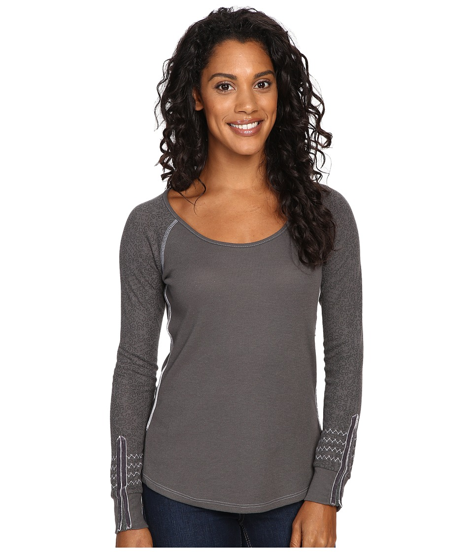 Kuhl - Alva Thermal (Carbon Swirl) Women's Long Sleeve Pullover