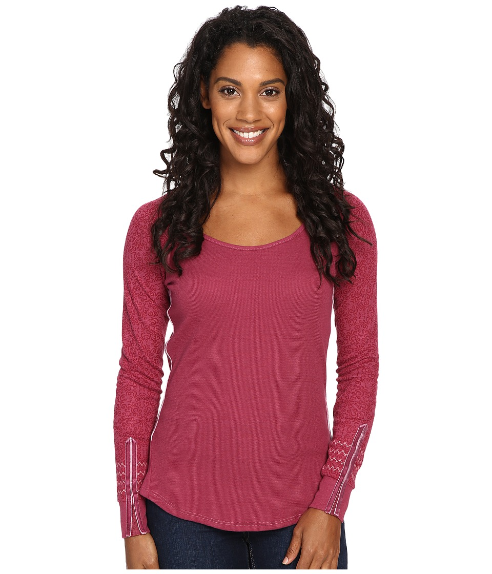 KUHL - Alva Thermal (Claret Swirl) Women's Long Sleeve Pullover