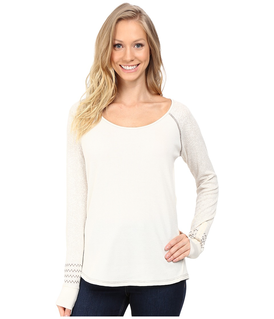 Kuhl - Alva Thermal (Cream Swirl) Women's Long Sleeve Pullover