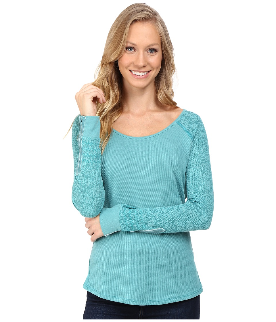 KUHL - Alva Thermal (Jasper Swirl) Women's Long Sleeve Pullover