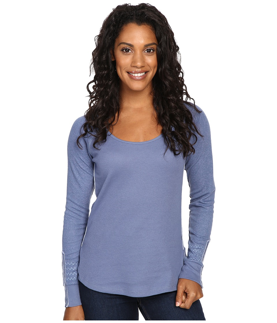 Kuhl - Alva Thermal (Storm Blue Swirl) Women's Long Sleeve Pullover