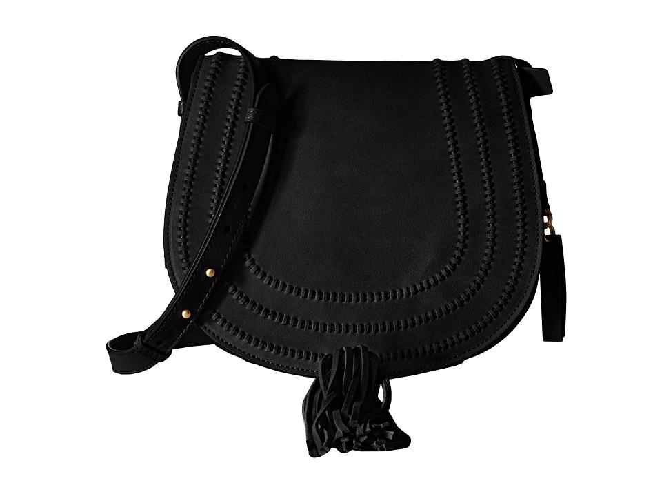 Vince Camuto - Izzi Flap (Black) Cross Body Handbags