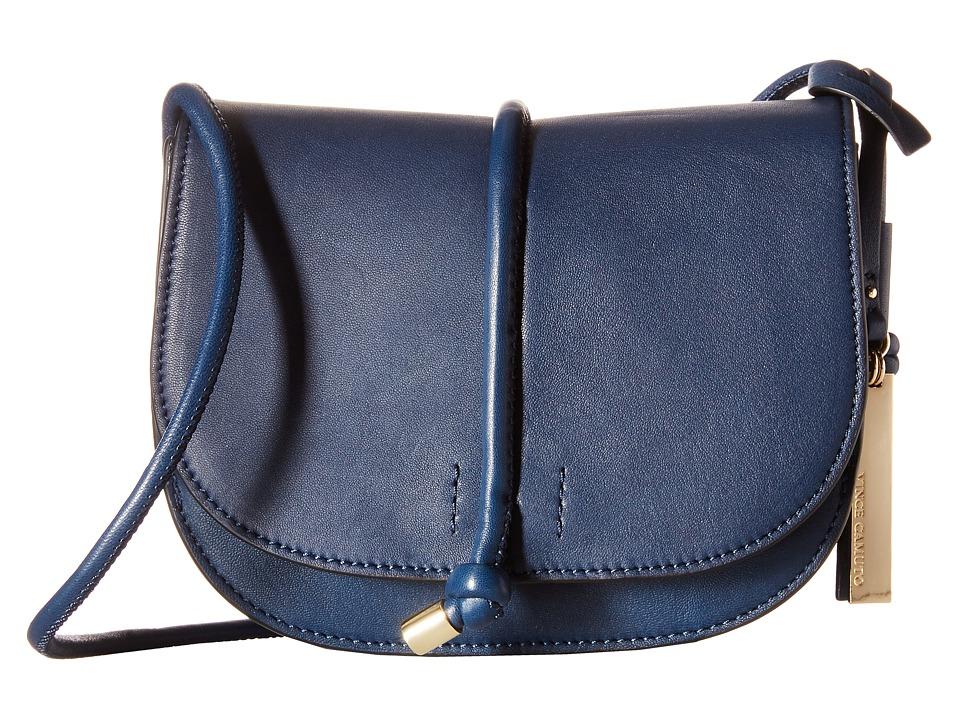 Vince Camuto - Sonia Crossbody (Navy) Cross Body Handbags