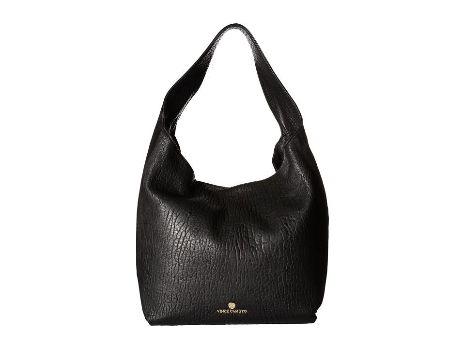 Vince Camuto - Rita Hobo (Black/Black) Hobo Handbags