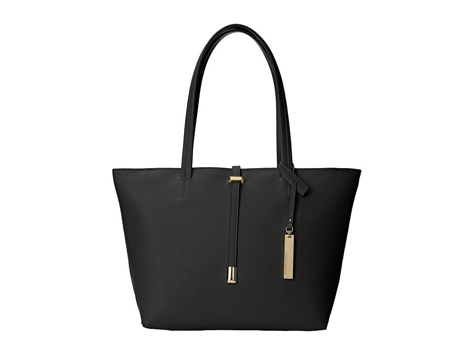 Vince Camuto - Leila Small Tote (Black) Tote Handbags