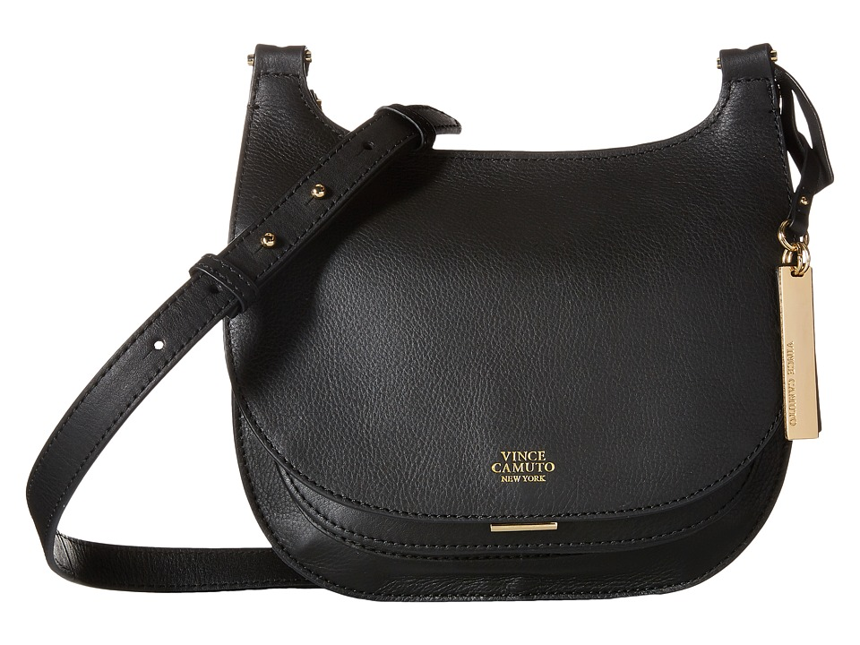 Vince Camuto - Elyza Small Crossbody (Black) Cross Body Handbags