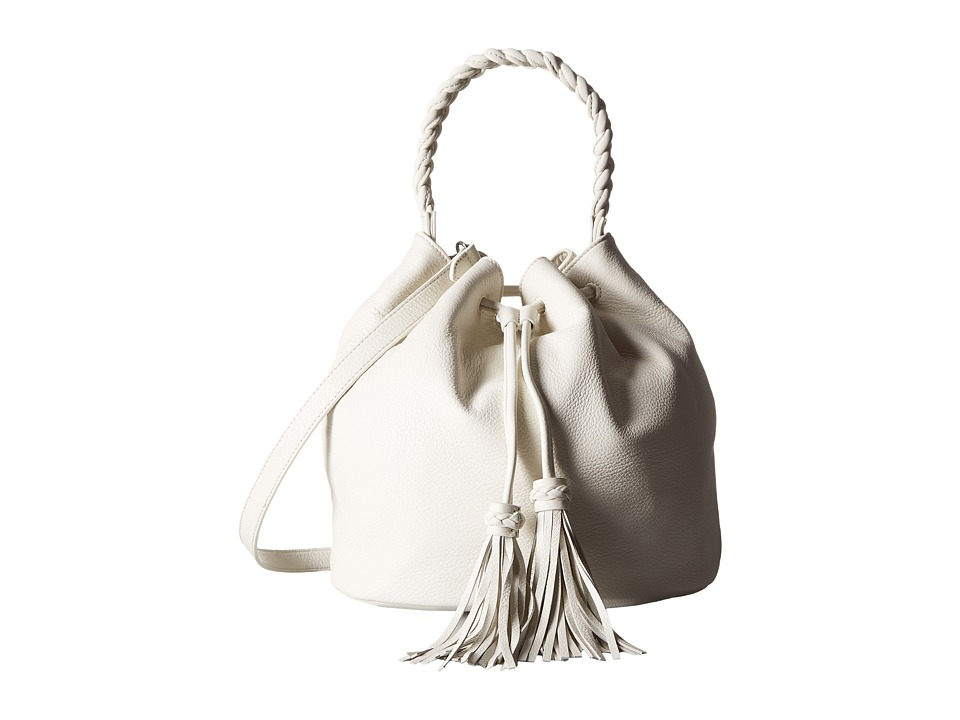 Vince Camuto - Zinya Drawstring (Snow White) Drawstring Handbags