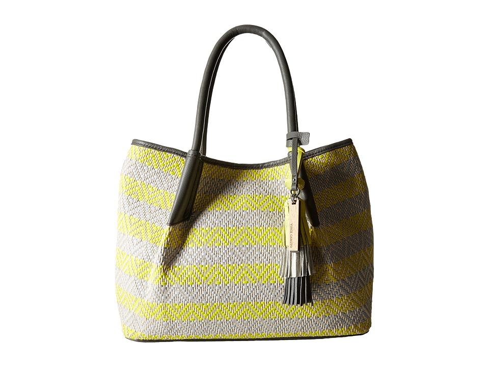 Vince Camuto - Harlo Tote (Bright Neon/Pale Grey) Tote Handbags