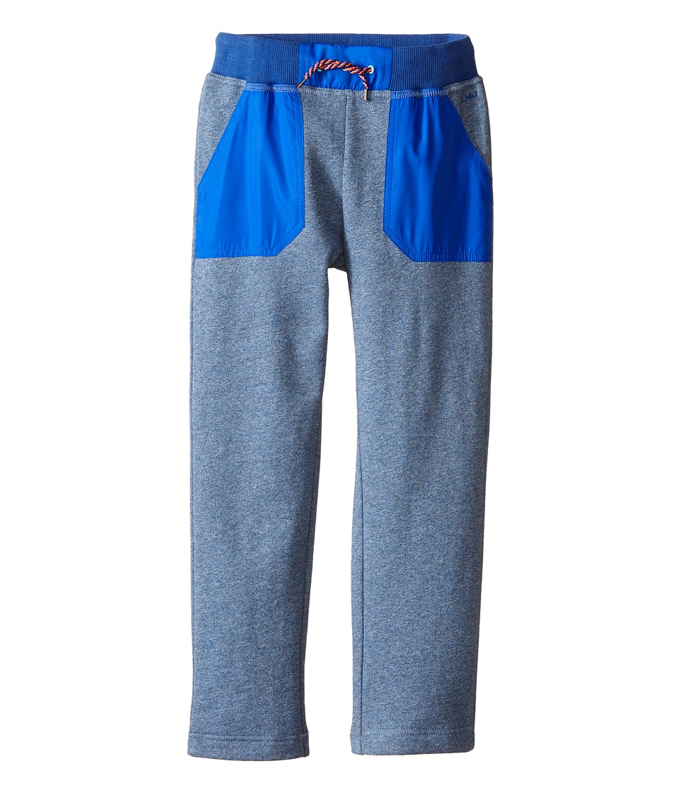Little Marc Jacobs - Trousers Satin Patches (Little Kids/Big Kids) (Medium Blue) Boy's Casual Pants