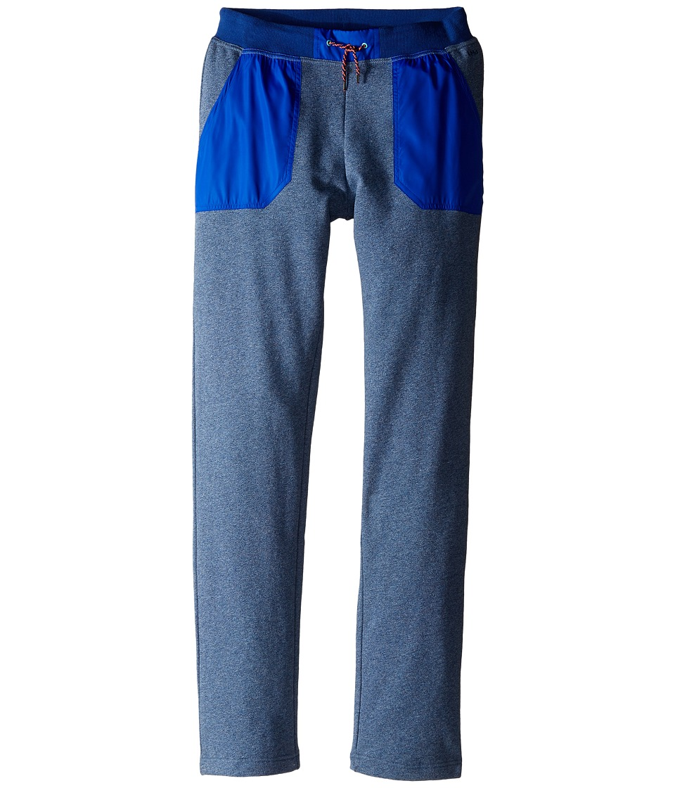 Little Marc Jacobs - Trousers Satin Patches (Big Kids) (Medium Blue) Boy's Casual Pants