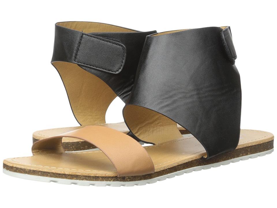 MUK LUKS - Edie (Black) Women's Sandals