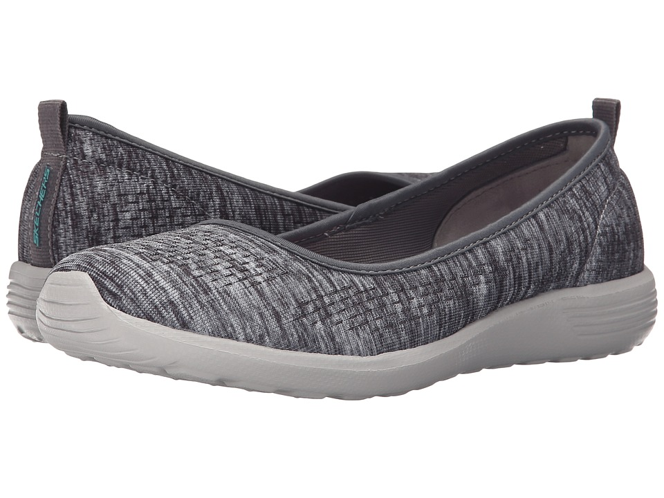 SKECHERS - Stardust - Follow Me (Gray) Women's Shoes