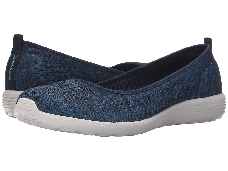 SKECHERS - Stardust - Follow Me (Navy) Women's Shoes