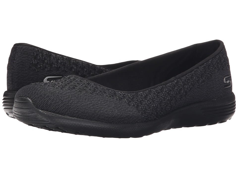 SKECHERS - Stardust - Faith (Black) Women's Shoes