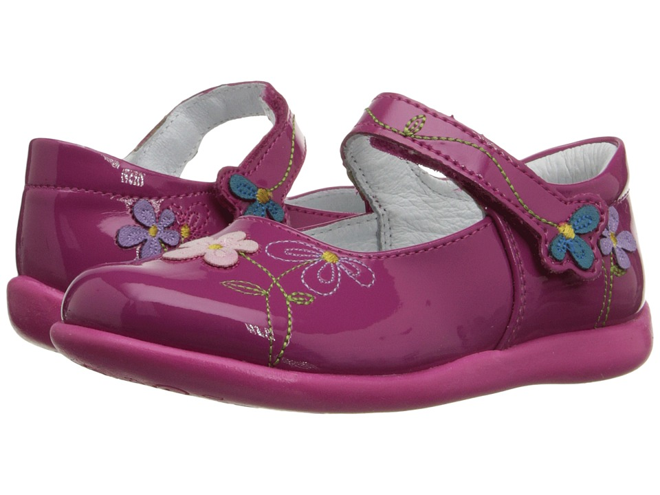 Kid Express - Primrose (Toddler/Little Kid) (Fuchsia Patent) Girl's Shoes