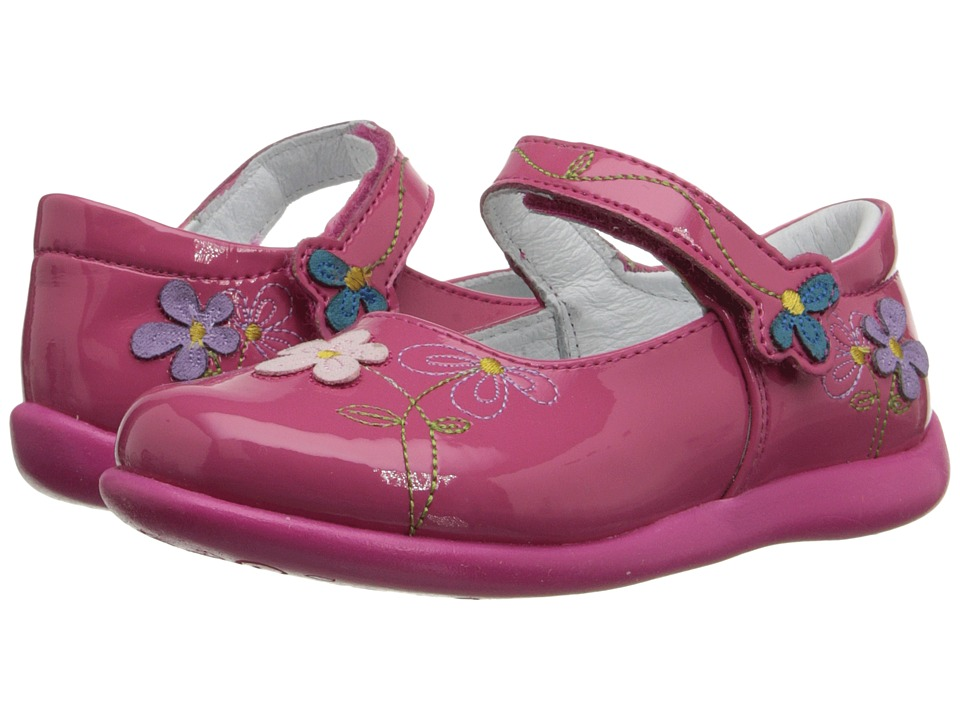 Kid Express - Primrose (Toddler/Little Kid) (Pink Patent) Girl's Shoes